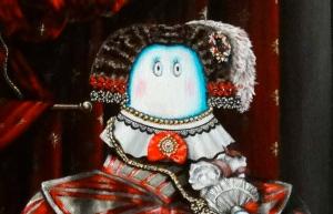Infanta Norm (detail) © Nicholas de Lacy-Brown