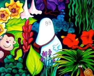 Jungle Norm (Acrylic on canvas, 2005)