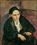 Gertrude Stein (Picasso, 1906)
