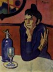 The Absinthe Drinker (Picasso, 1901)