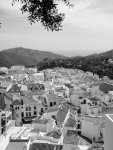 Archetypal white washed mountain village in Andalucia - Ojen