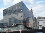 Shiny new apartment block going up at Liverpool's Albert Dock