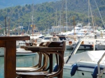 Dining in the stunning Puerto de Soller, Mallorca