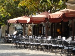 My favourite café chain across Mallorca, Cappuccino - here its scenic branch in the heart of Valldemossa