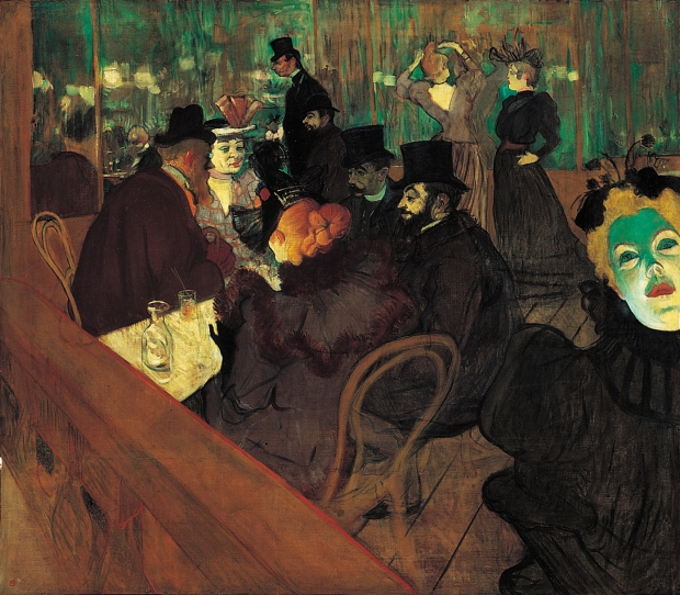 At the Moulin Rouge, 1892-95 © The Art Institute of Chicago