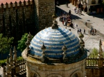 Ceramic dome and the square below