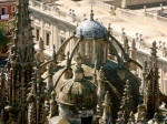 Roof of La Catedral - amazing gothic details
