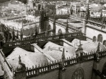Cathedral roofs undulating like waves