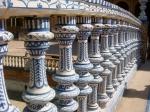 Ceramic bridge in the Plaza de España