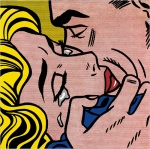 Roy Lichtenstein, Kiss V (1964)