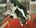 Marc Chagall, The Birthday (1915, MOMA New York)