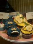 Miserable cakes echoing my mood at the thought of going home