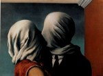 Rene Magritte - The Kiss (1951)