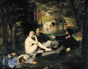 Le Déjeuner sur l'herbe by Edouard Manet (1863)