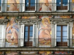 Frescoes in the Plaza Mayor