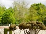 Fairytale trees in the Parque del Buen Retiro