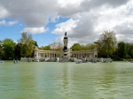 Pleasure pond in the Retiro