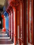 Bold colours of the Plaza Mayor