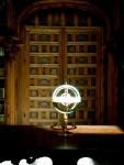 Astronomy globe in Salamanca's University library