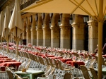 Tables to the ready - Salamanca's Plaza Mayor