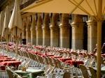 Tables to the ready - Salamanca's Plaza Mayor