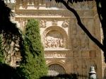 The stunning facade of the Convento de San Esteban