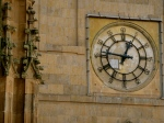 Clock on the tower of the Catedral Nueva