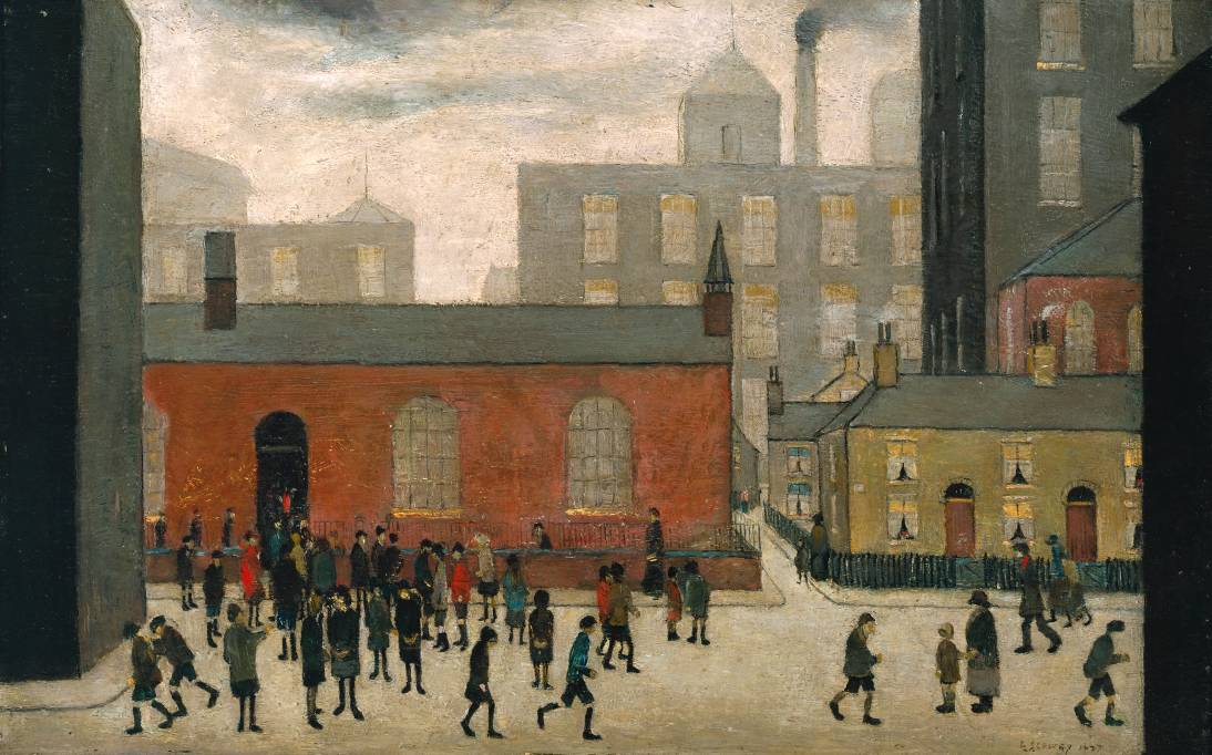 L.S. Lowry is coming to Tate Britain | The Daily Norm Oasis Masterplan