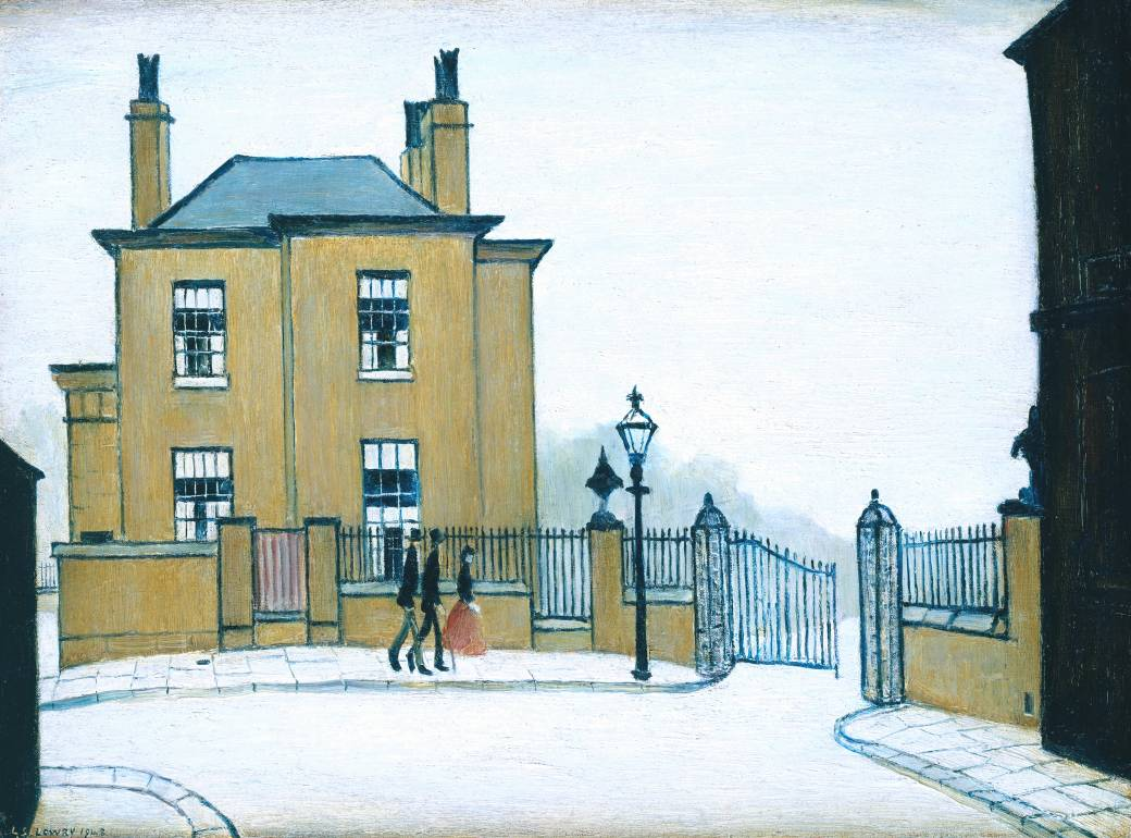 L s lowry is coming to tate britain the daily norm for Grove house