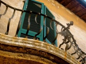 Elegant balcony in Populonia