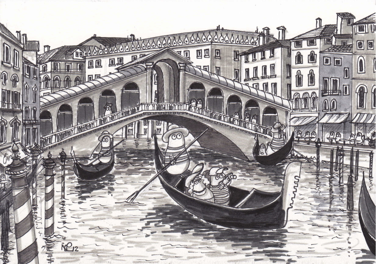 Line Drawing Venice : The daily sketch italia norms in venice norm