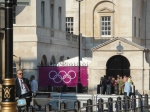 Horse Guards Parade - usually governmental, gets a splash of olympic purple