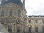 Sun dappled Louvre