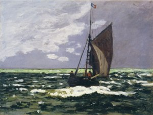 Claude Monet, Seascape: Storm (1860-67)