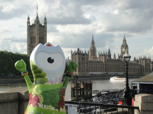 Garden Wenlock in front of Parliament