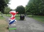 Union Jack in Regent's Park