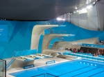 I adore these organically shaped diving boards