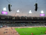 The stunning Athletics stadium