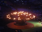 The flame is extinguished (with Ellie Simmonds and Jonnie Peacock