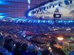 The breathtaking and huge stadium
