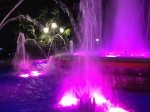 The fountain of the Almeda park