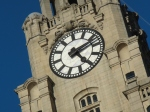 Clock of the famous Liver Building