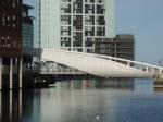 A futuristic bridge