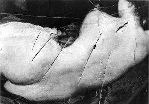 The slashed Rokeby Venus