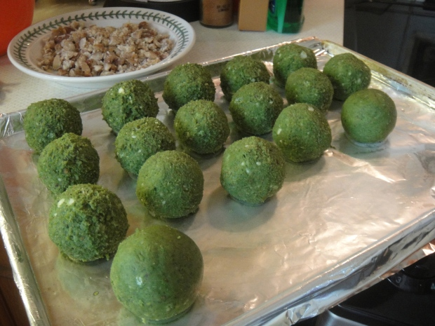 My balls pre-cooking