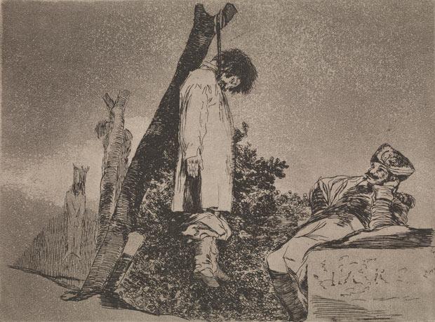 Goya, Tampoco (1810-20)