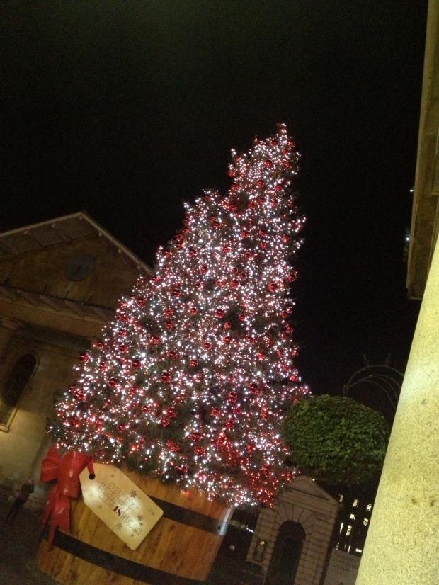 Covent Garden's tree
