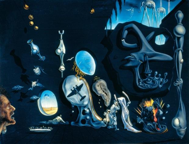 Melancholy atomic uranic idyll (1945)