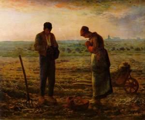 The original L'Angelus by Jean-François Millet (1857-9)