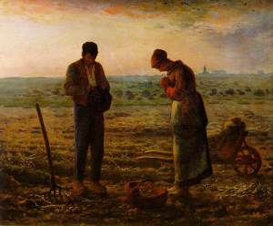 The original L'Angelus by Jean-François Millet (1857-9)